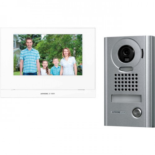 """Aiphone JO 7"""" Video Intercom Kit, WiFi-FM"""