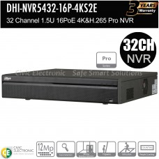Dahua 32ch Pro Series NVR Record Up to 12MP