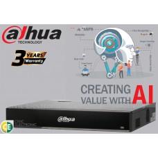 Dahua 32ch AI Series NVR Record Up to 16MP