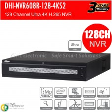 Dahua 128ch Ultra Series NVR Record Up to 12MP