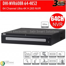 Dahua 64ch Ultra Series NVR Record Up to 12MP