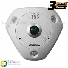 Hikvision 12MP Outdoor Fisheye Camera, 1.98mm