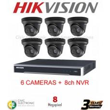 Hikvision 8ch 8MP Turret Kit