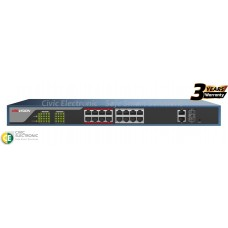 Hikvision 16 Port POE Switch