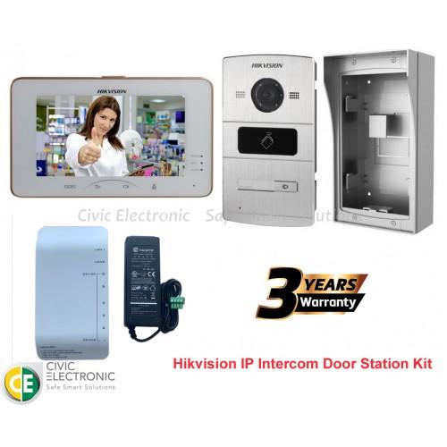 Hikvision IP Intercom Door Station Kit