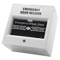 Emergency Break Glass Surface Mounted Door Release - a-gcp22w