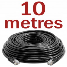 CAT5 Patch Network Cable for CCTV - 10 Metres