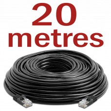 CAT6 Patch Network Cable for CCTV - 20 Metres