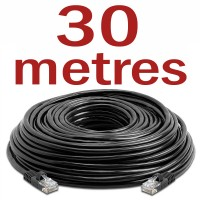 CAT5 Patch Network Cable for CCTV - 30 Metres