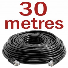 CAT6 Patch Network Cable for CCTV - 30 Metres