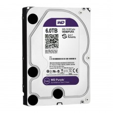 Western Digital WD60PURZ 6TB Purple Surveillance Hard Drive for DVR/NVR