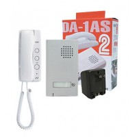 Aiphone AI-DA-1ASK Call Audio Entrance Box Set with Handset Tenant Station Kit