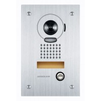 Aiphone AI-JO-DVF Vandal Resistance Stainless Steel Flush Mount Video Door Station