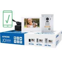 "Aiphone AI-JOS-1FW Mobile-Ready Box Set with Flush-Mount Door Station 7"" Video Intercom Kit (WiFi)"