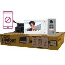 Aiphone AI-JOS-1V Entry Security Intercom Box Set with Vandal Resistant, Surface-Mount Door Station Kit