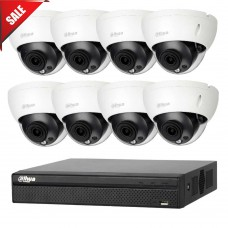 Dahua 8MP 8CH CCTV Kit: 8 x IP Dome Cameras + 8CH NVR