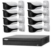Dahua 6MP 8CH CCTV Kit: 8 x IP Mini Bullet Cameras + 8CH NVR
