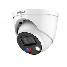 Dahua 8MP Full-color Active Deterrence Fixed-focal Eyeball WizSense Network Camera