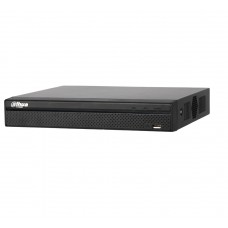 Dahua DHI-NVR4104HS-P-4KS2-3TB 4 Channel Compact 1U 4PoE 4K H265 Lite Network Video Recorder HDD-3TB installed