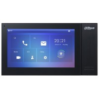 Dahua DHI-VTH2421FB 7inch Touch Screen IP Indoor Black Monitor Intercom