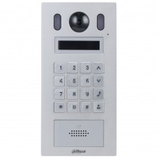 Dahua DHI-VTO6221E-P Small Size Apartment Outdoor Station, 2.3inch OLED, Aluminium alloy plate, IP55, IK08, Door release via password and Mifare card