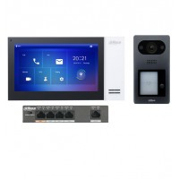 Dahua KIT-DHI-7INWHT3211D-P 7inch Touch Screen IP Intercom Kit - White