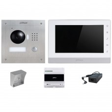 Dahua DHI-VTK-DHI-VTO2000A-DHI-VTH1550CHW-2 2Wire IP intercom KIT