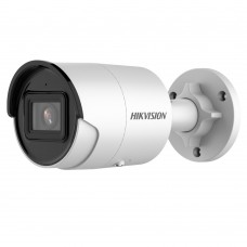 Hikvision DS-2CD2086G2-I2 8MP Outdoor AcuSense Gen 2 Mini Bullet Camera, Powered by Darkfighter, Built-in Mic, IR 40m, IP67, 2.8mm Lens