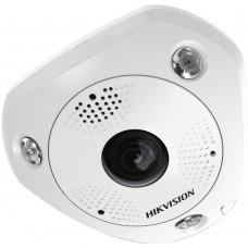 Hikvision DS-2CD63C2F-IV 12MP Outdoor Fisheye Camera, DWDR, 15m IR, ePTZ, IP66, 1.98mm Lens