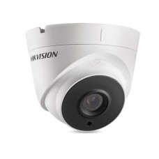 Hikvision DS-2CE56H5T-IT3 TVI4.0 5MP Outdoor IR Turret Camera, 20fps, DWDR, UTC, IP67, 12VDC, 2.8mm Lens