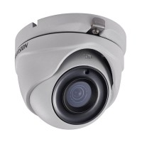 Hikvision DS-2CE16H5T-ITM TVI4.0 5MP Outdoor IR Eyeball Dome Camera, 20fps, UTC, IP67, 12VDC, 2.8mm Lens