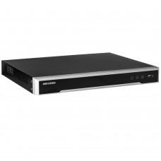Hikvision DS-7616NI-16-4T 16ch PoE NVR, 160Mbps, H.264+, 4K, VGA/ HDMI, 1RU, 4TB HDD
