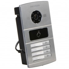 Hikvision DS-KV8402-IM Villa Door Station, 4 Button, Aluminium, PON, HD720P, IP65