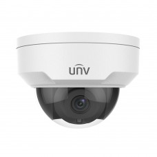 UNV Uniview IPC325ER3-DVPF28 5MP Starlight Dome IP Fixed 2.8mm Lens POE