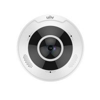 UNV Uniview IPC868ER-VF18-B 4K Ultra HD Vandal-resistant Fisheye Fixed Dome Camera
