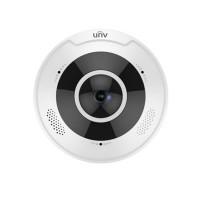 UNV Uniview IPC868ER-VF18-B 4K Ultra HD Vandal-resistant Fisheye Fixed Dome Camera