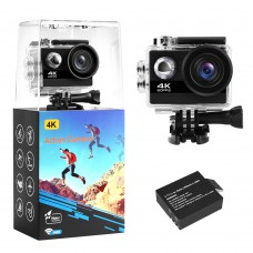4K 24MP Action Camera and Accessories Kit